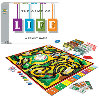 LIFE A FAMILY GAME BY WINNING MOVES #1140 image.