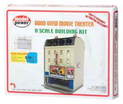 MODEL POWER #1593 GOOD VIEW MOVIE THEATER image.