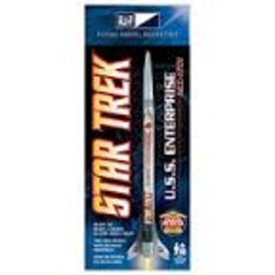 MPC #0004 STAR TREK USS ENTERPRISE NCC-1701 FLYING MODEL ROCKET KIT image.