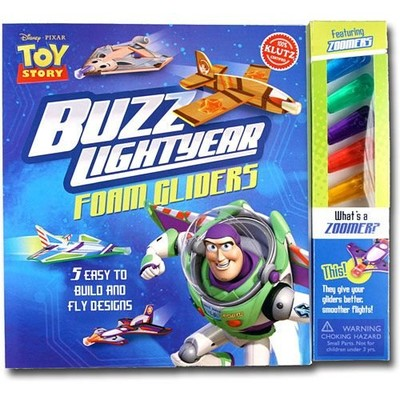 KLUTZ BUZZ LIGHTYEAR FOAM GLIDERS image.