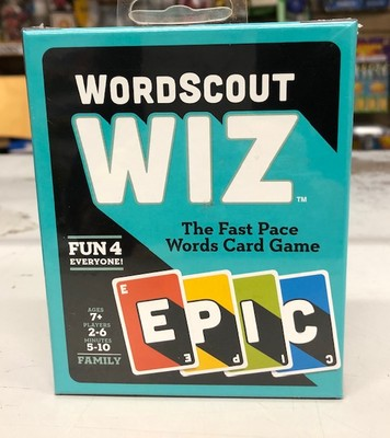 WORD SCOUT WIZ CARD GAME CHD #WORDSCOUT image.