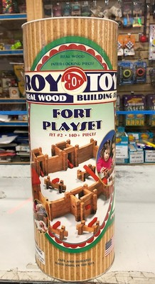 ROY TOY CNC #RTFC FORT BUILDING SET image.