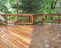 Deck Power Washing in CT | Blue Mobile Wash