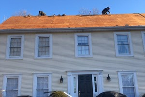 Completed by East Granby CT Roofer