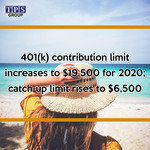IRS Announces 2020 Pension Plan Limitations