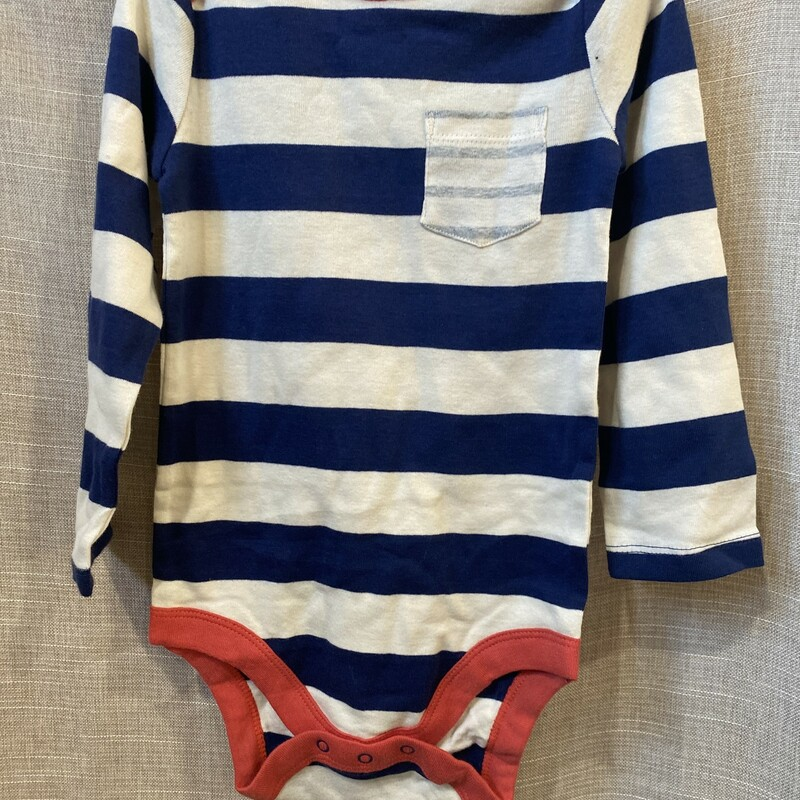 Mini Boden, Striped, Size: 2-3