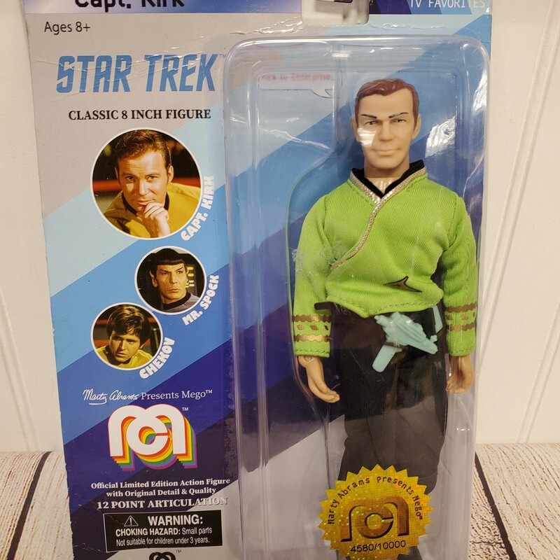 Capt Kirk Action Figure NEW