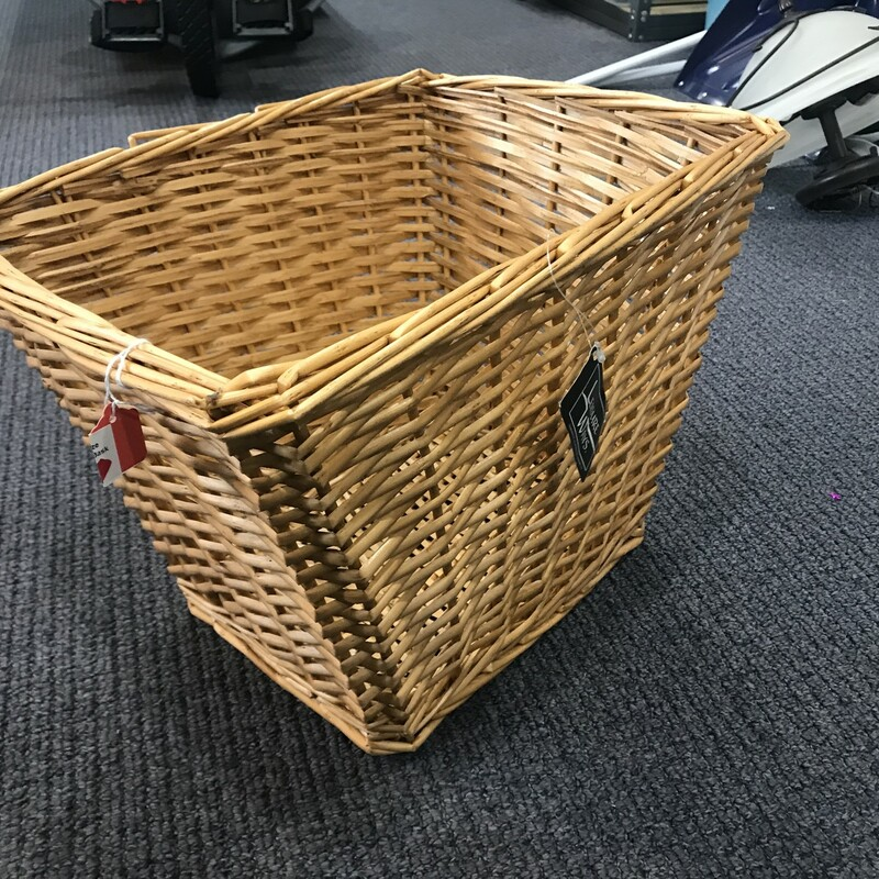 Rectangular Basket.