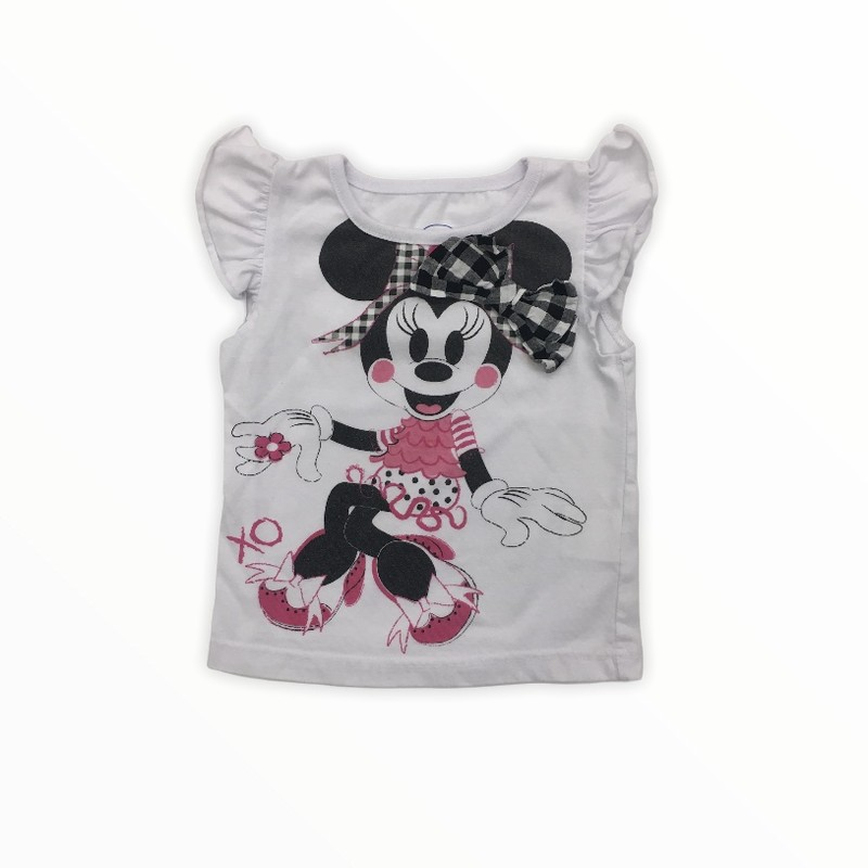 Shirt (Minnie), Girl, Size: 24m<br /> <br /> #resalerocks #disney #pipsqueakresale #vancouverwa #portland #reusereducerecycle #fashiononabudget #chooseused #consignment #savemoney #shoplocal #weship #keepusopen #shoplocalonline #resale #resaleboutique #mommyandme #minime #fashion #reseller                                                                                                                                      Cross posted, items are located at #PipsqueakResaleBoutique, payments accepted: cash, paypal & credit cards. Any flaws will be described in the comments. More pictures available with link above. Local pick up available at the #VancouverMall, tax will be added (not included in price), shipping available (not included in price), item can be placed on hold with communication, message with any questions. Join Pipsqueak Resale - Online to see all the new items! Follow us on IG @pipsqueakresale & Thanks for looking! Due to the nature of consignment, any known flaws will be described; ALL SHIPPED SALES ARE FINAL. All items are currently located inside Pipsqueak Resale Boutique as a store front items purchased on location before items are prepared for shipment will be refunded.