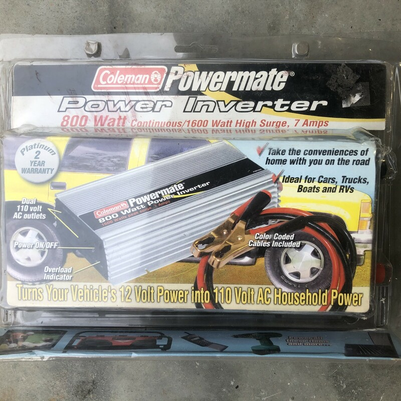 800 Watt Power Inverter.