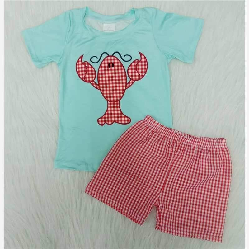 2pc Crawfish Short Set.