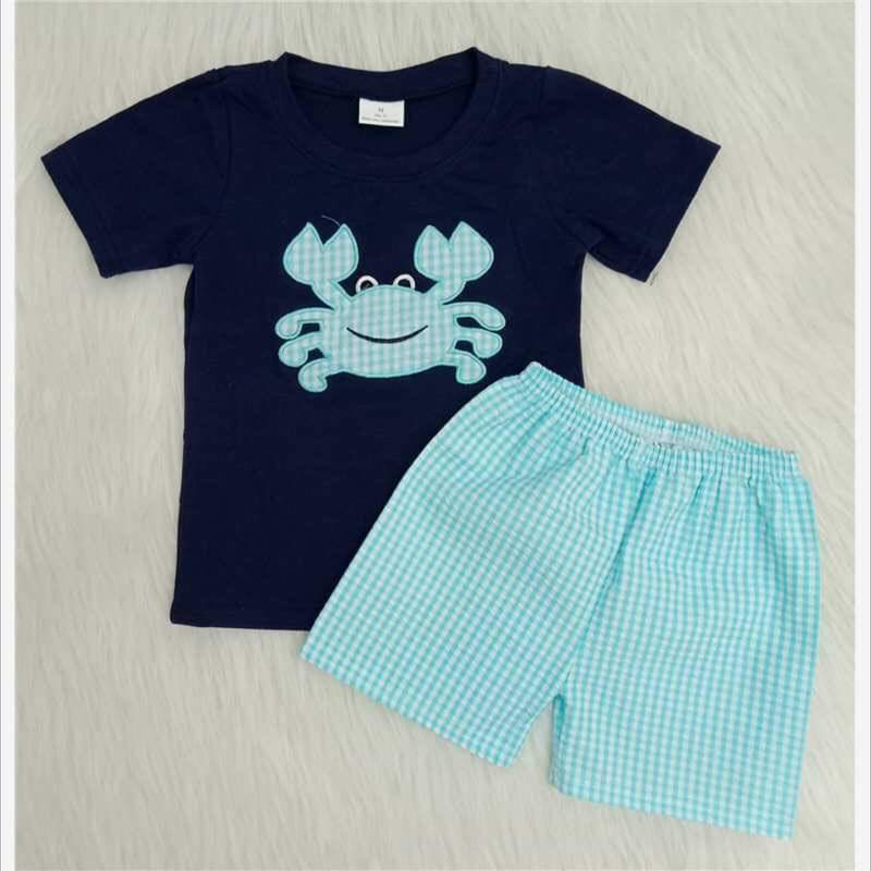 Blue Crab Short Set.