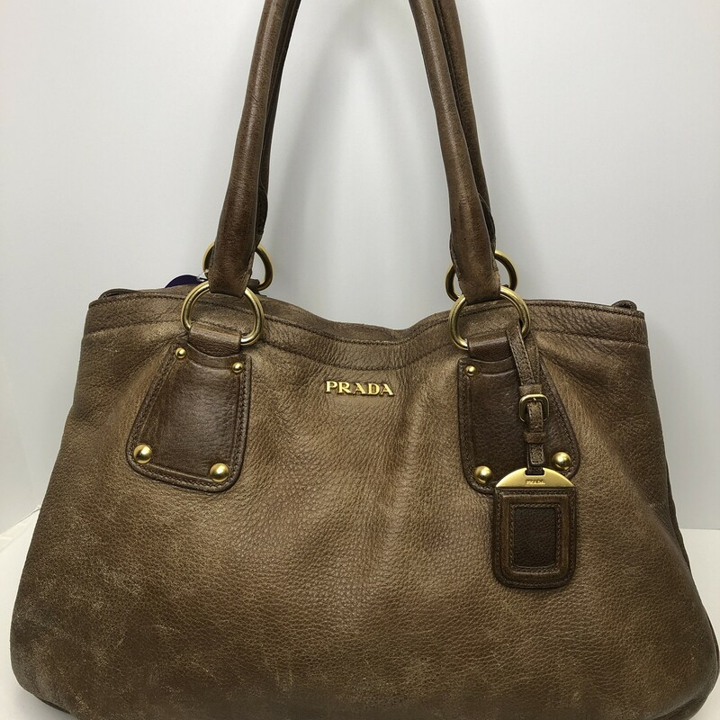 Prada Large Leather Hobo.