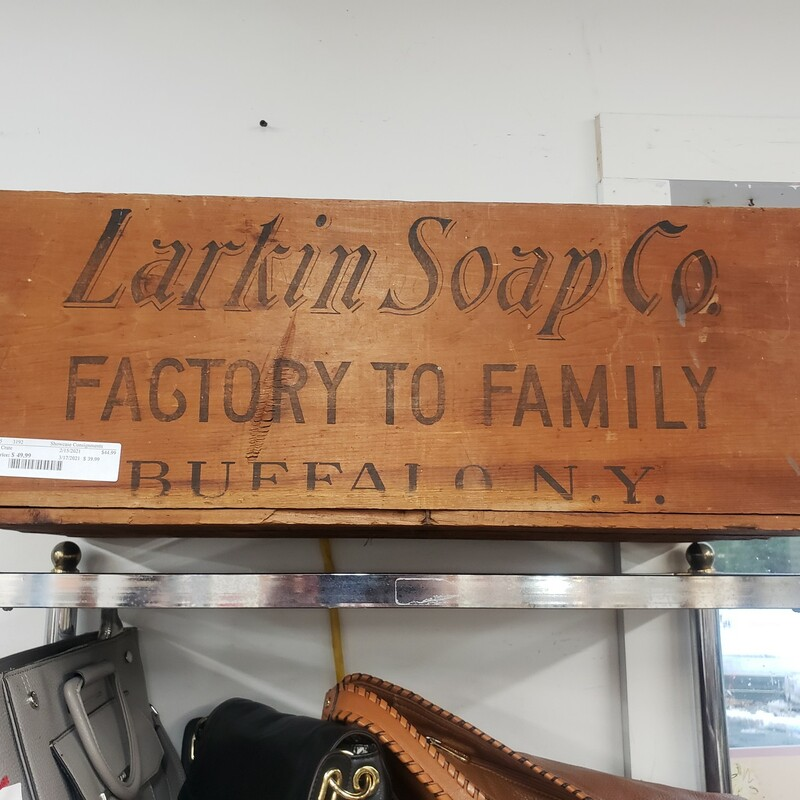 Larkin Soap Crate.