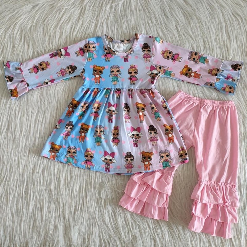 2pc LOL Dress Set, Multi, Size: 6m Girl