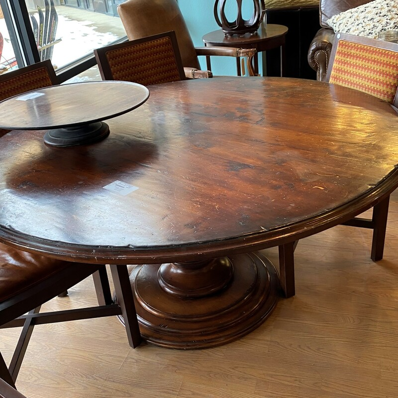 Round Dining Table.