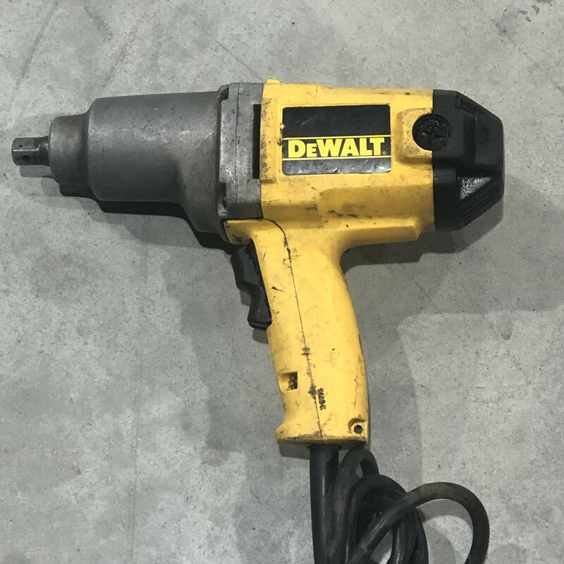 Corded Impact Wrench.