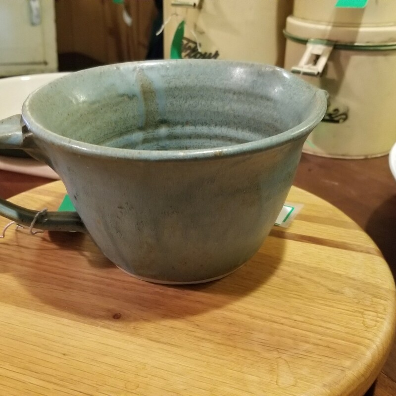 Blue Batter Bowl Pottery.