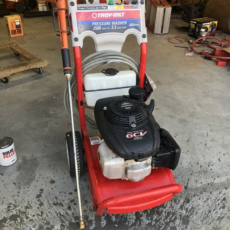 GAS Pressure Washer.