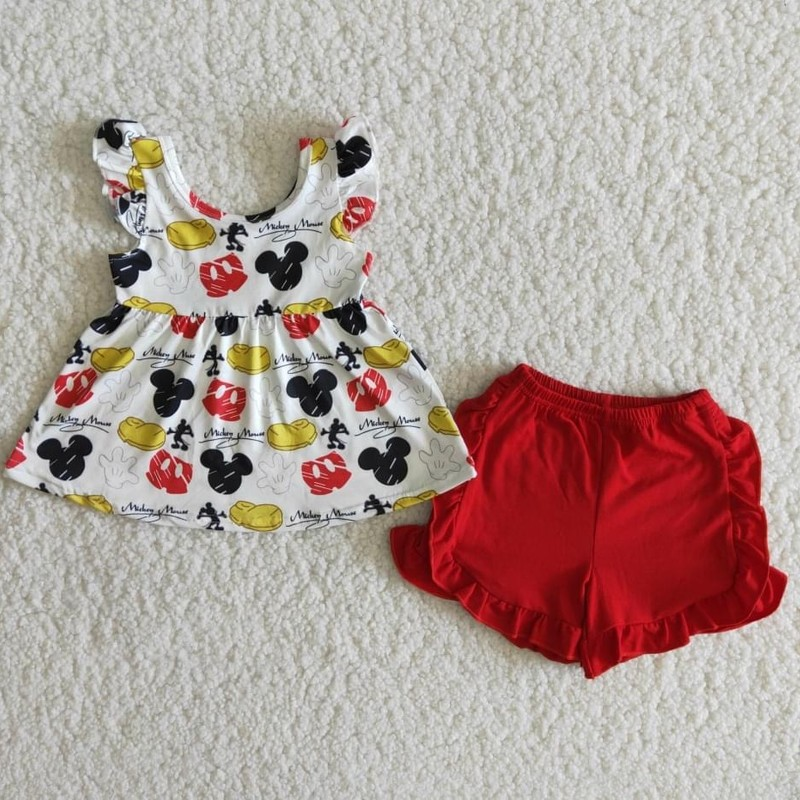 Mickey Short Set.