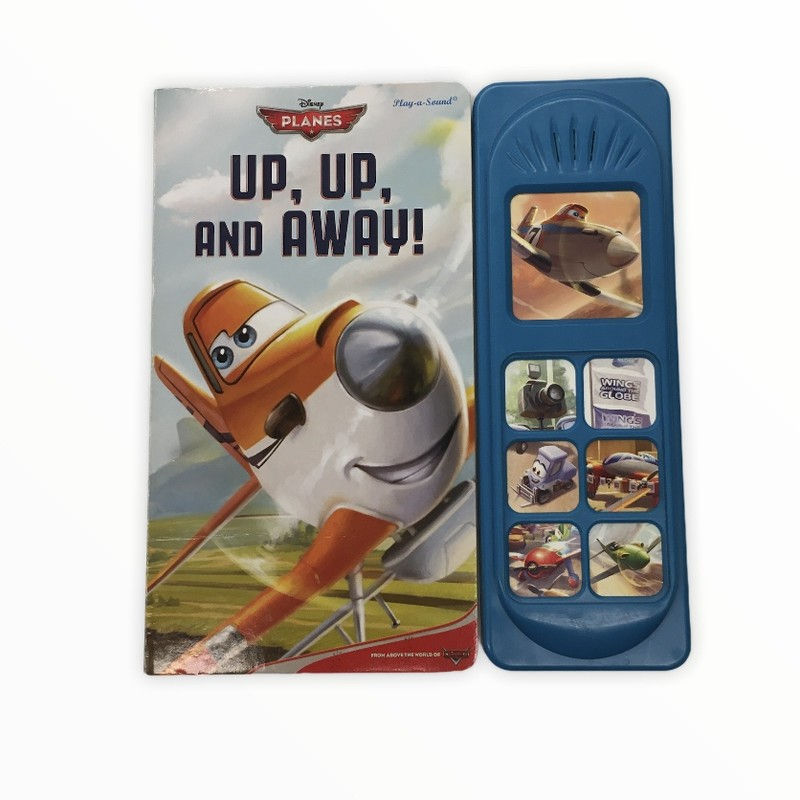 Planes Up Up And Away, Book<br /> <br /> #resalerocks #books  #pipsqueakresale #vancouverwa #portland #reusereducerecycle #fashiononabudget #chooseused #consignment #savemoney #shoplocal #weship #keepusopen #shoplocalonline #resale #resaleboutique #mommyandme #minime #fashion #reseller                                                                                                                                      Cross posted, items are located at #PipsqueakResaleBoutique, payments accepted: cash, paypal & credit cards. Any flaws will be described in the comments. More pictures available with link above. Local pick up available at the #VancouverMall, tax will be added (not included in price), shipping available (not included in price), item can be placed on hold with communication, message with any questions. Join Pipsqueak Resale - Online to see all the new items! Follow us on IG @pipsqueakresale & Thanks for looking! Due to the nature of consignment, any known flaws will be described; ALL SHIPPED SALES ARE FINAL. All items are currently located inside Pipsqueak Resale Boutique as a store front items purchased on location before items are prepared for shipment will be refunded.