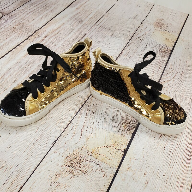 JoJo Sequin High Tops.