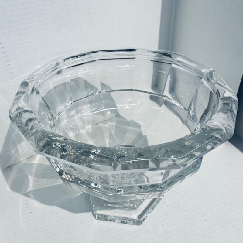 Glass Footed Bowl.