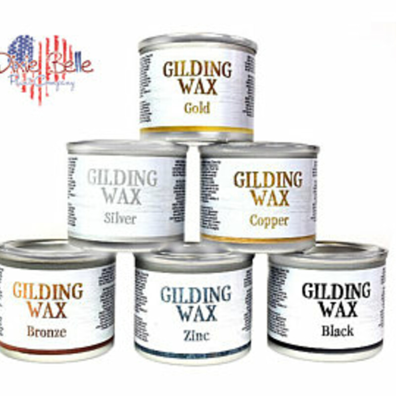 Bring a metallic luster to your piece with Gilding Wax. This oil-based product will radiate across all types of projects and create scintillation on any piece. Use this product on ornate carvings to enhance texture or detail with a metal-like flare.<br /> <br /> Add a touch of beauty; shimmer and sheen to your painted projects. Each color comes in a 40 ml (1.3 oz) container.<br /> <br /> You can apply Gilding Wax with your finger; cloth; sponge or brush.