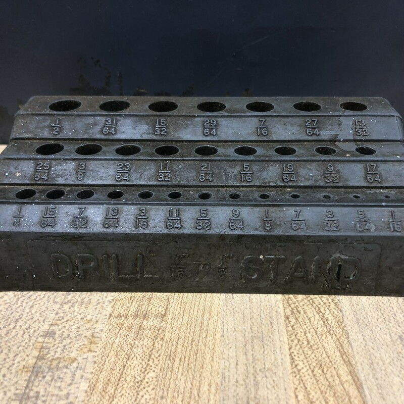 Drill Bit Index Stand.
