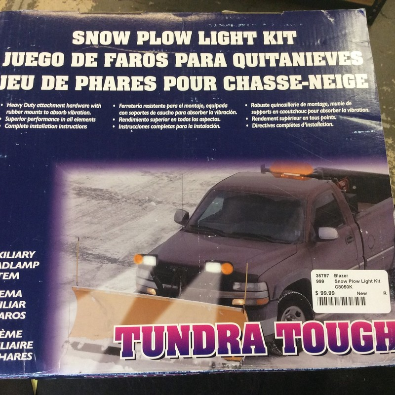 Blazer C8050K Snow Plow Light Kit - Clear / Amber<br /> <br /> *NEW NEVER USED*