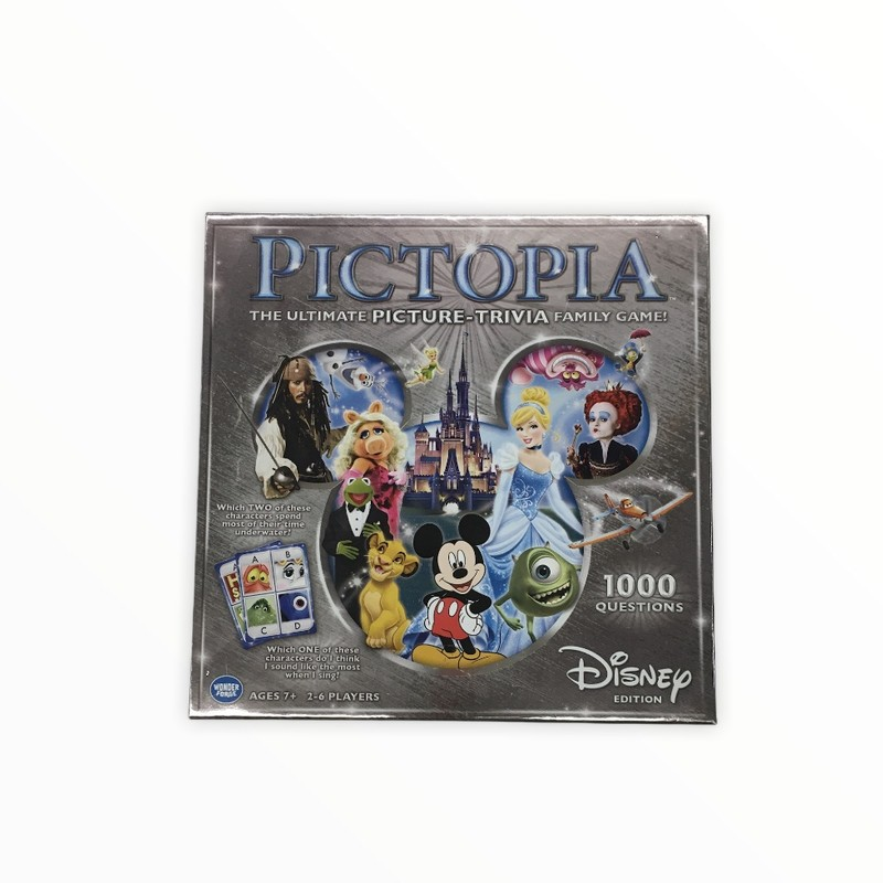 Pictopia Disney NWT, Toys<br /> <br /> #resalerocks #pipsqueakresale #vancouverwa #portland #reusereducerecycle #fashiononabudget #chooseused #consignment #savemoney #shoplocal #weship #keepusopen #shoplocalonline #resale #resaleboutique #mommyandme #minime #fashion #reseller                                                                                                                                      Cross posted, items are located at #PipsqueakResaleBoutique, payments accepted: cash, paypal & credit cards. Any flaws will be described in the comments. More pictures available with link above. Local pick up available at the #VancouverMall, tax will be added (not included in price), shipping available (not included in price), item can be placed on hold with communication, message with any questions. Join Pipsqueak Resale - Online to see all the new items! Follow us on IG @pipsqueakresale & Thanks for looking! Due to the nature of consignment, any known flaws will be described; ALL SHIPPED SALES ARE FINAL. All items are currently located inside Pipsqueak Resale Boutique as a storefront items purchased on location before items are prepared for shipment will be refunded.