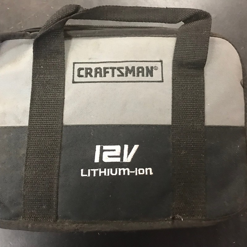 Crafstman 12V Multi Tool Kit.<br /> <br /> *NO BATTERIES*
