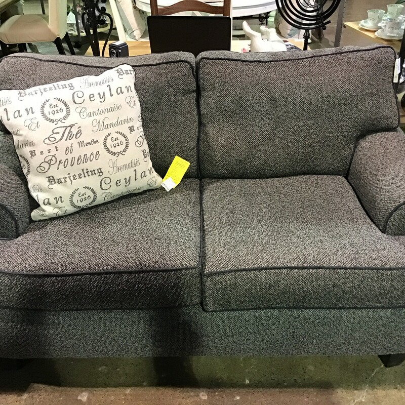 Charcoal Loveseat.