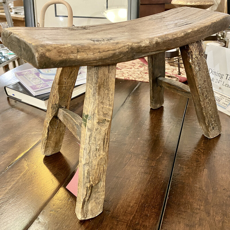 Antique 4 Legged Stool