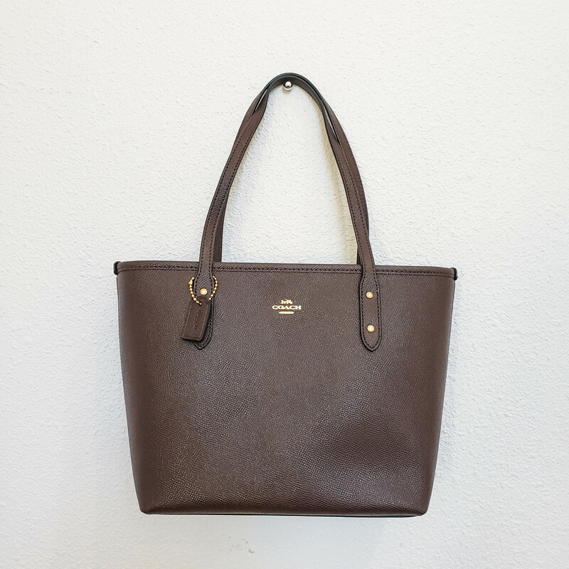 Coach City Zip<br /> Leather<br /> Tote<br /> NWT!<br /> Original Retail $250