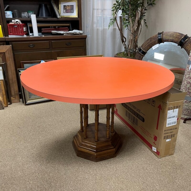Round Formica Table.