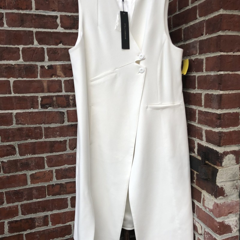 Stella Carakasi Vest NWT, White, Size: Medium<br /> On MFG website for over $250