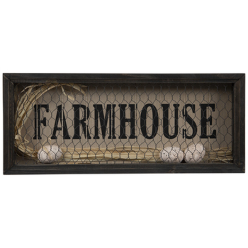 Egg&Wire Farm Sign.