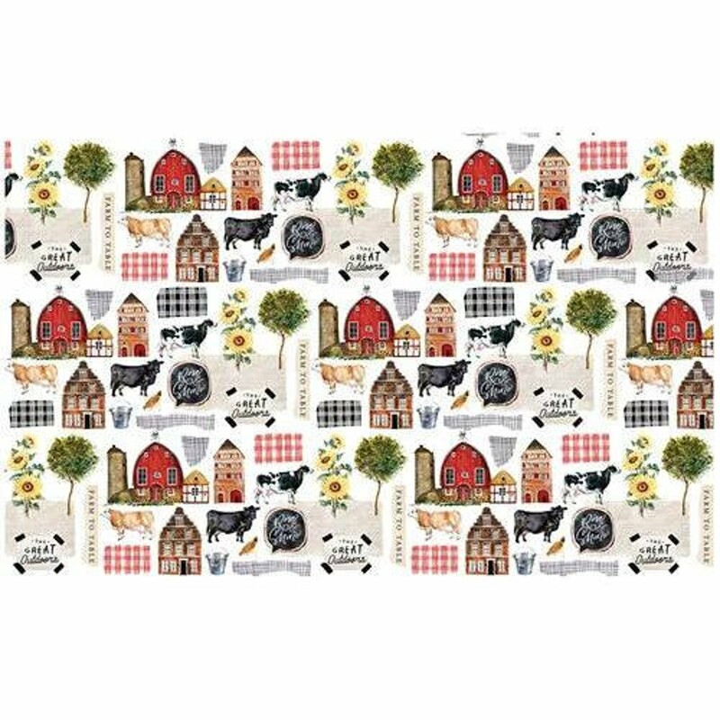 Farm To Table Decoupage Decor