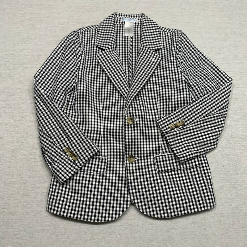 Checked Blazer.