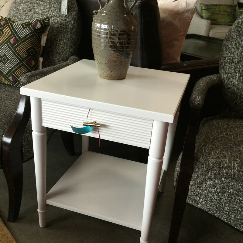 White Nightstand.