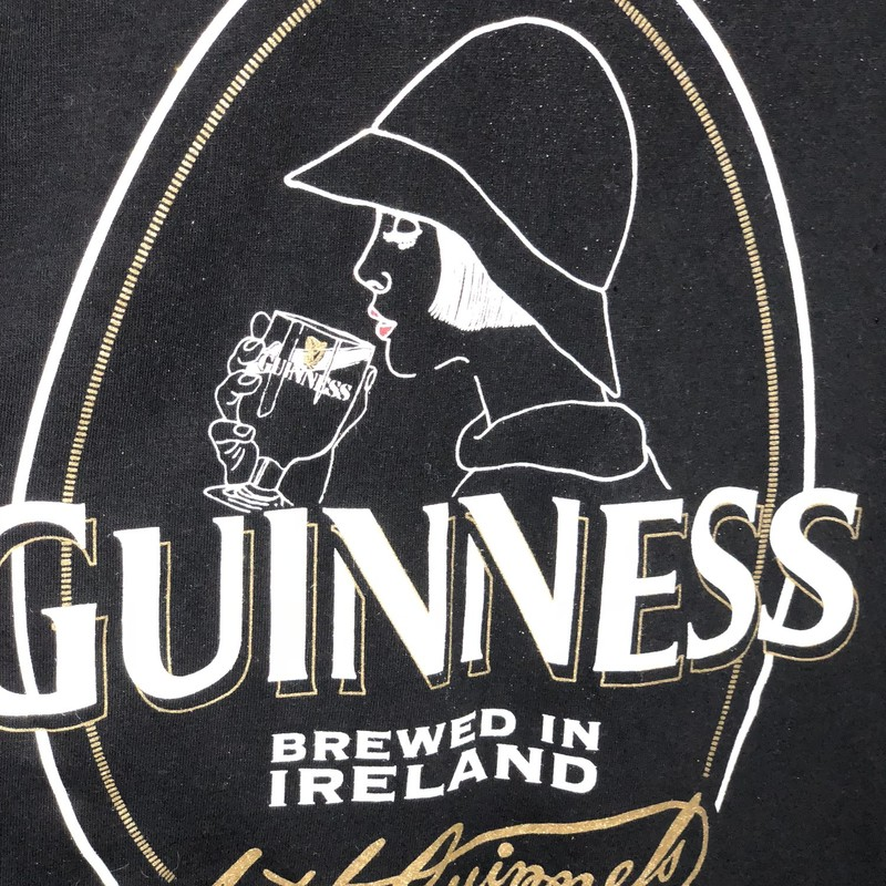 Guiness Tee NWT, Black, Size: Large