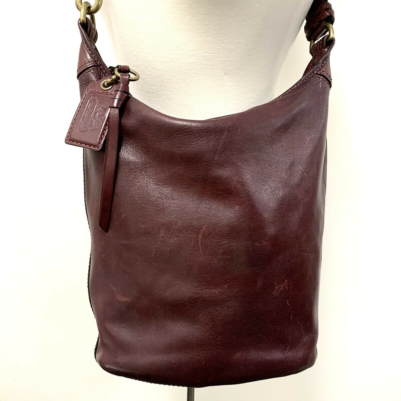 Coach Bleecker Bucket Bag<br /> Cognac Leather