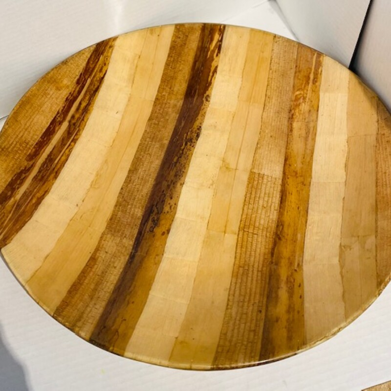 Wood Laquered Bowl.
