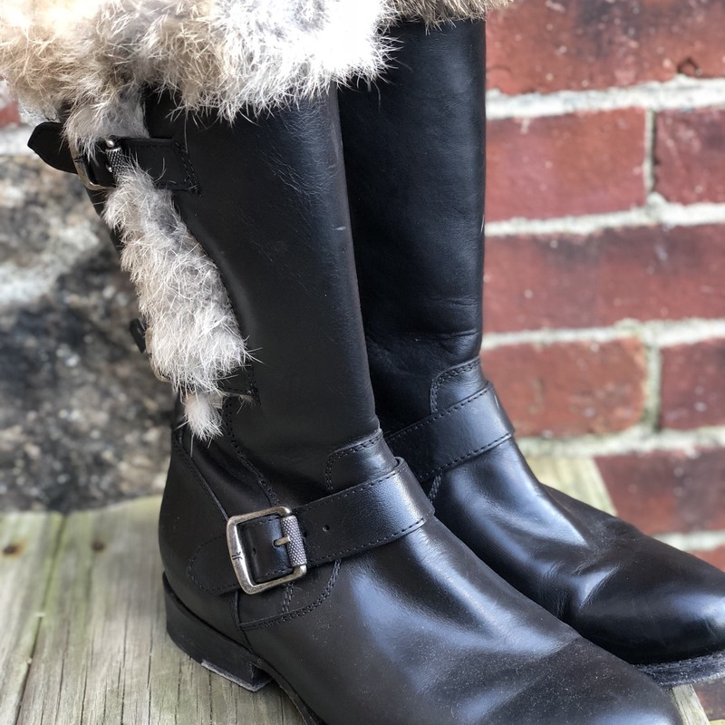 Frye, Fur, Size: 7.5 great condition