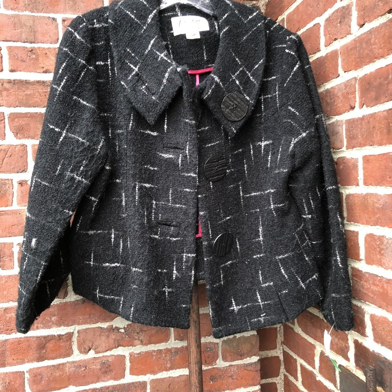 An Ren Dress Jacket, Black, Size: Medium<br /> Very good condition cropped dress coat. Retail over $400