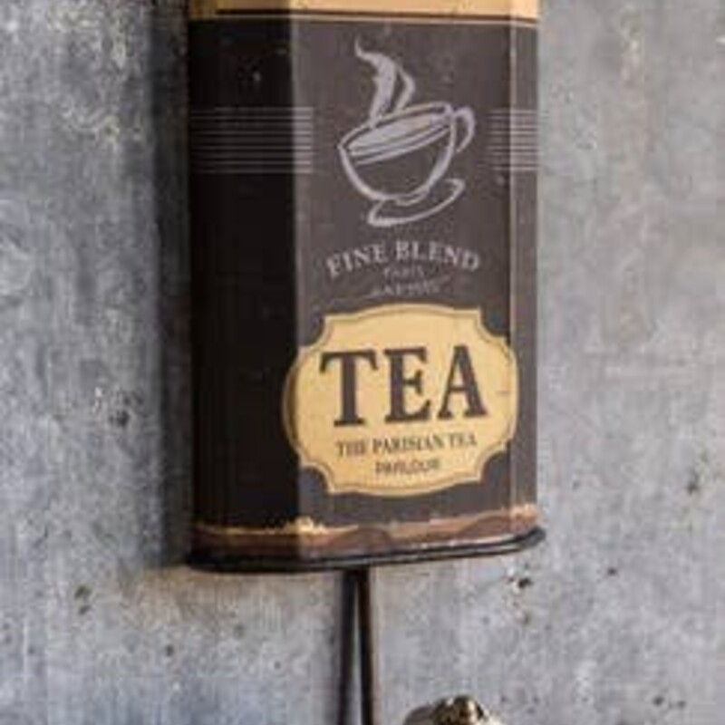 Iron Tea Box Hook.