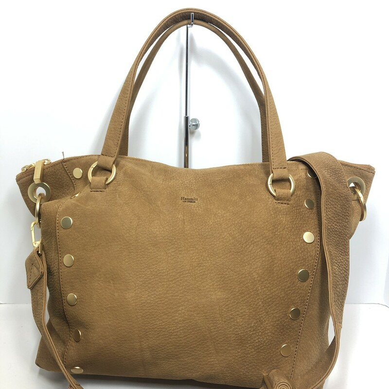 Hammit Leather Satchel, $149.99