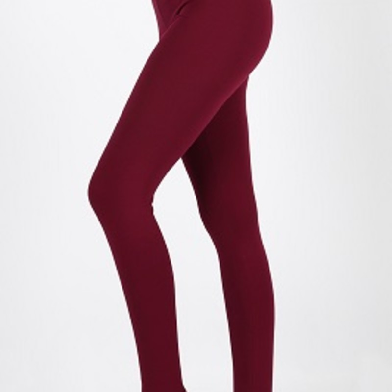 Get you a pair of our Zenana Regular Length Leggings. They are perfect for all your fall outfits they are super comfortable and you can dress them up or dress them down. Wear them to any occasion, they are made of 95% Cotton 5% spandex and have an inseam 29in.