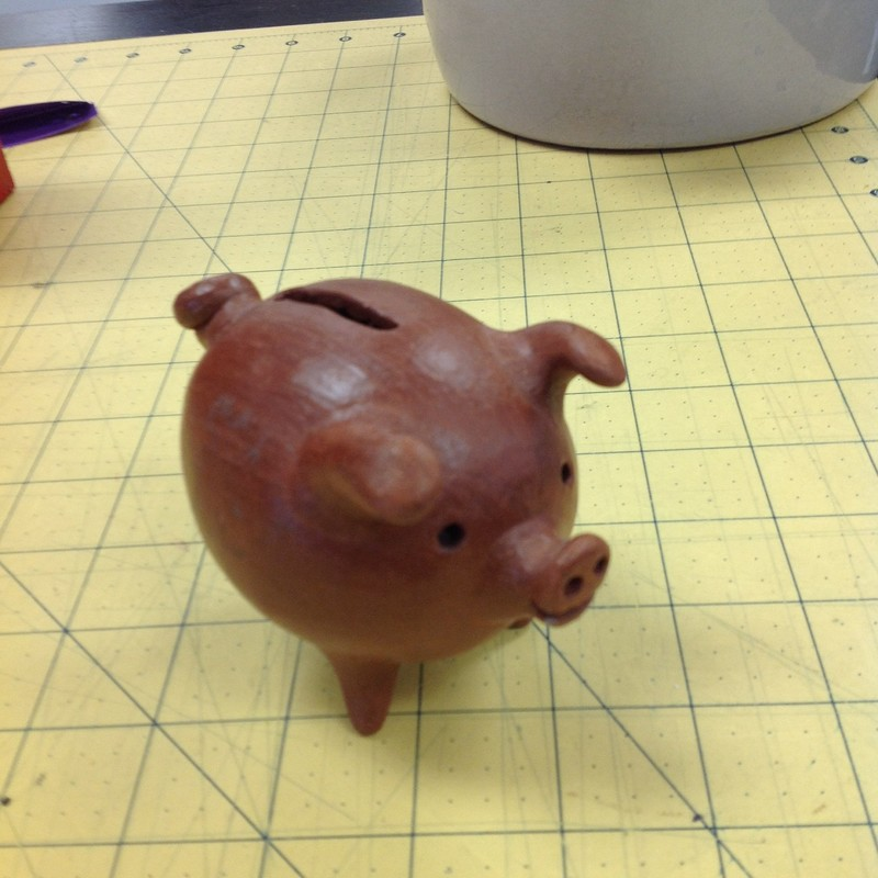 Mexican Terracotta Pig